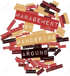 Management-by-wandering-around